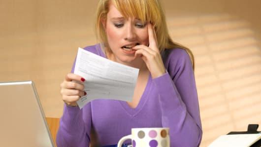 Stress debt taxes
