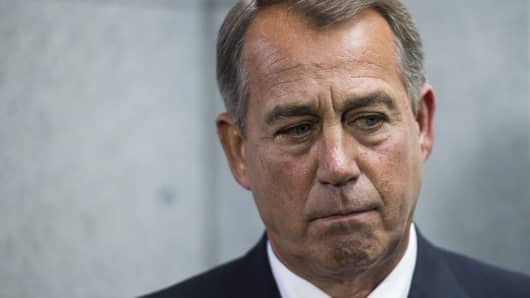 John Boehner, Speaker of the House R-Ohio.