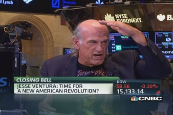 Abolish all political parties: Jesse Ventura