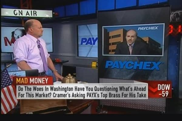 Paychex CEO: Checks per client continue to grow