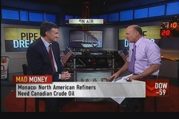 Enbridge CEO: North American refiners need Canadian crude