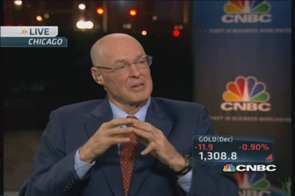 Political crisis is 'self-inflicted: Paulson