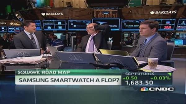 Samsung watch a flop