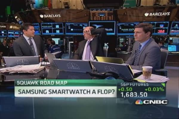 Samsung watch a flop