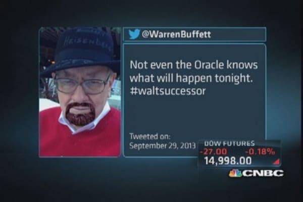 Warren Buffett on 'Breaking Bad' finale