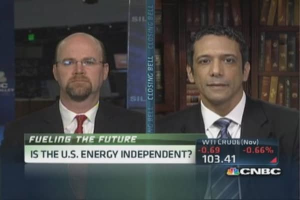 US on path for energy independence?