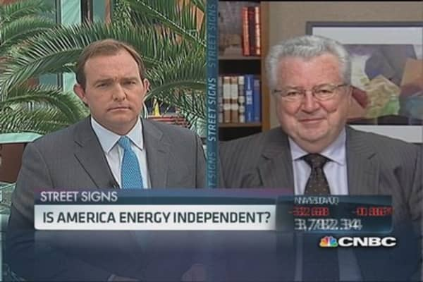 US has long way to go: Hofmeister on oil independence