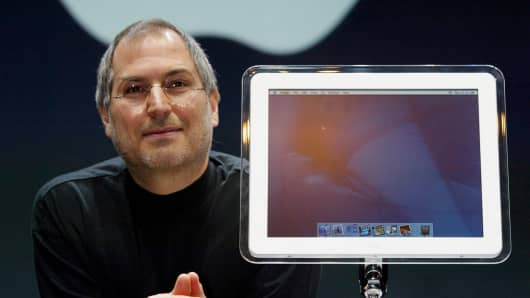 Steve Jobs in 2002.