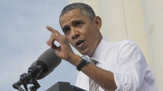 President Obama spoke about the need for Congress to pass a budget.