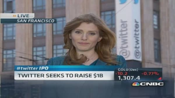 Twitter: Seeking a cool $1 billion