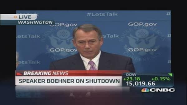 Boehner: 'This isn't some damn game!'