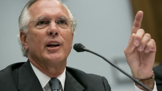 Richard Fisher, president and chief executive officer of the Federal Reserve Bank of Dallas.