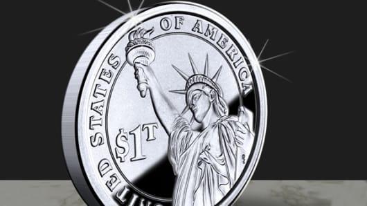 $1 trillion dollar coin concept