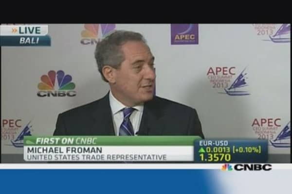 US trade representative: APEC and TPP are complimentary