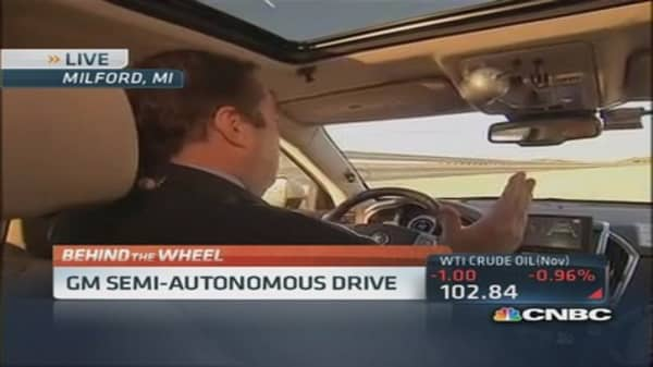 Look Ma, no hands! GM's self-driving car