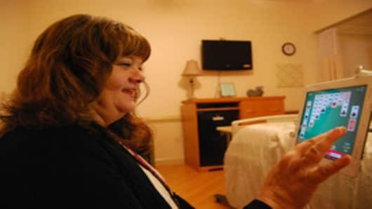 Cornerstone hospice iPad user