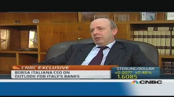 Bank restructuing 'positive in the end'