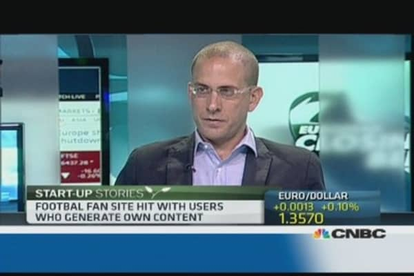 Football startup hopes to generate sales in 2014