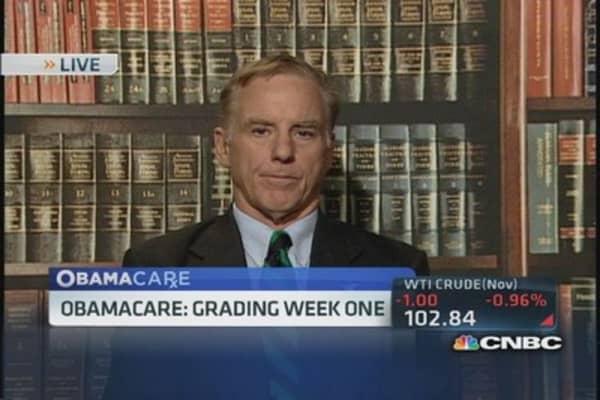 May take 2-3 weeks to straighten Obamacare:  Pro