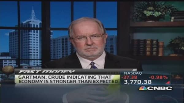 Gartman eyes US gas prices