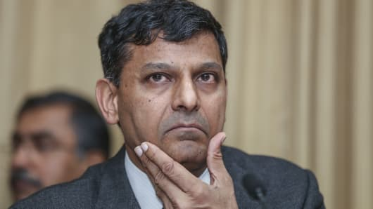 Raghuram Rajan, governor of the Reserve Bank of India (RBI)