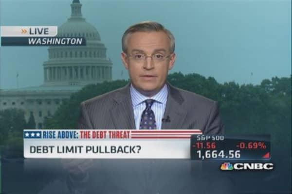 GS: Debt ceiling fail could mean rapid economic downturn