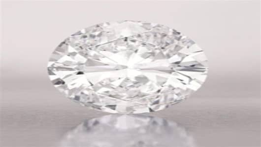 World Auction Record For A White Diamond