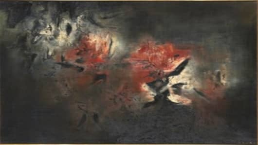 Zao Wou-ki's Abstraction