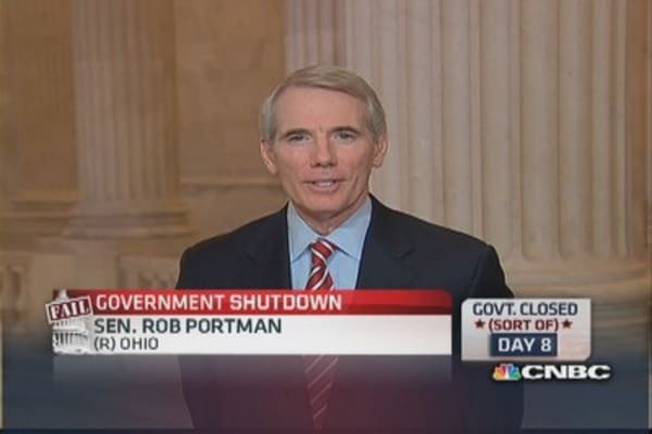 Sen. Portman's proposal to Washington