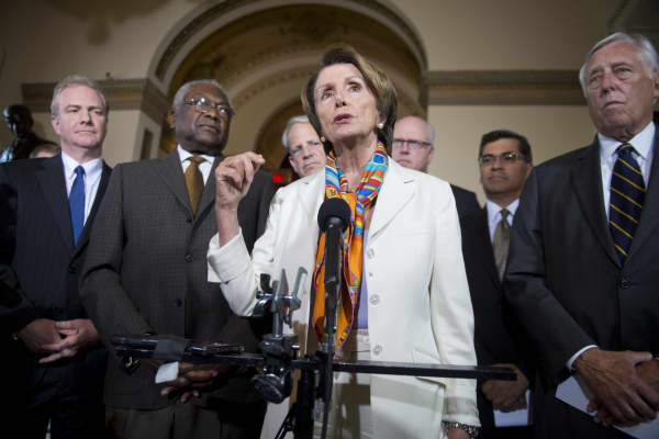 House Democrats are to meet with President Obama