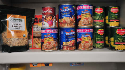 "A well-stocked pantry of canned goods is an essential for any ""doomsday prepper."""