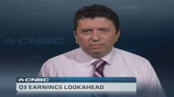 CNBC's Cox: Watch the earnings outlook