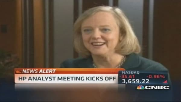 HP CEO changes tune, growth in 2014 is unlikely
