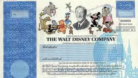 With click of a (Mickey) mouse, Disney stock certificates vanish