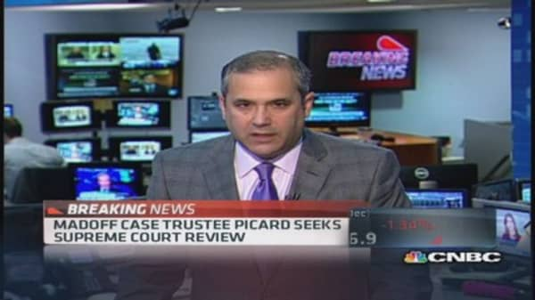 Madoff trustee Picard appealing to Supreme Court