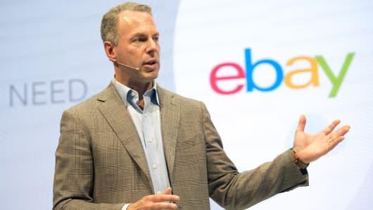 Online commerce giant eBay President Devin Wenig.