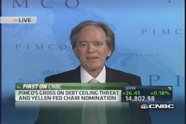 Pimco buying U.S. debt now: Gross