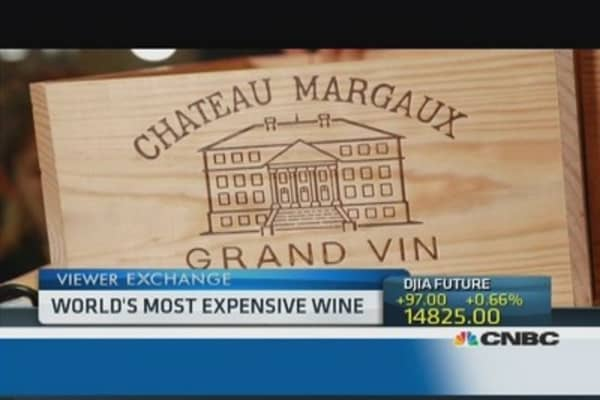 $200,000 bottle of wine goes on sale