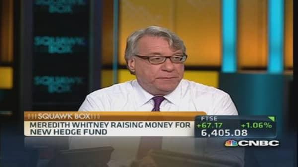 Meredith Whitney's hedge fund adventure