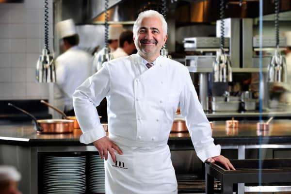 Chef Guy Savoy at Caesar's Palace, Las Vegas.