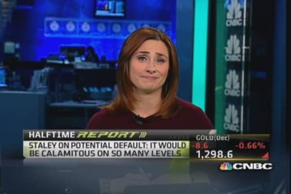Staley's take on risks of default