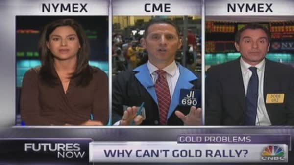 If gold can't rally now, when can it?