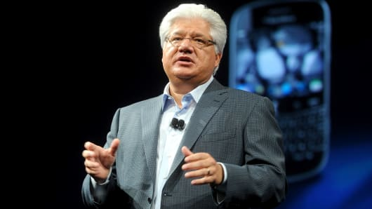 Mike Lazaridis, co-founder and vice chairman of BlackBerry.