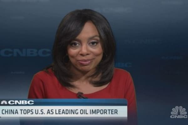 China, the oil importer