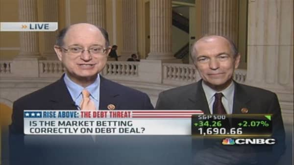 Is the market betting correctly on debt deal?