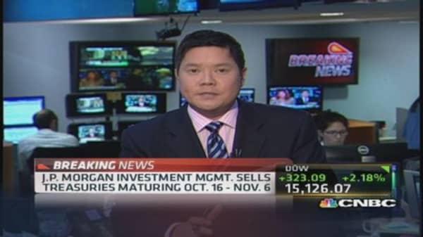 JPM sells Treasurys