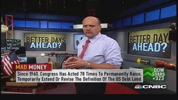 Washington 'tasered' whole economy: Cramer