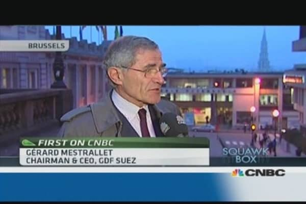 European energy policy a 'failure': GDF Suez CEO