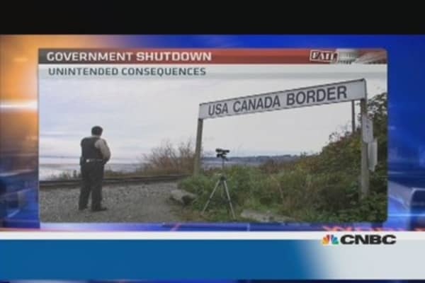 What?! The shutdown's unintended consequences