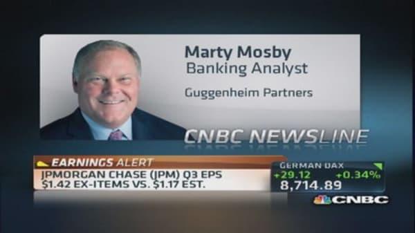 JPM earnings: Dimon & litigation costs